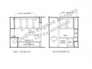 Mudroom Elevations